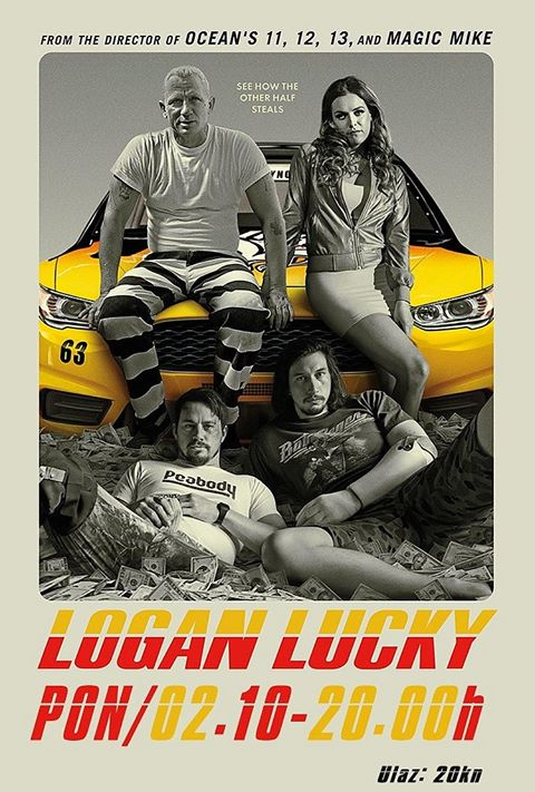 Kino: LOGAN LUCKY
